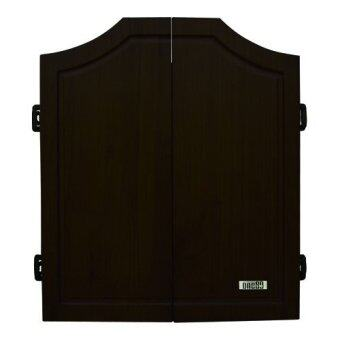 Harga One80 Darts Solid Wood Dart Cabinet Black