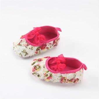 Harga New Baby Shoes Baby Girl Flowers Bow Princess Shoes Spring Autumn Bebe Walking Shoes