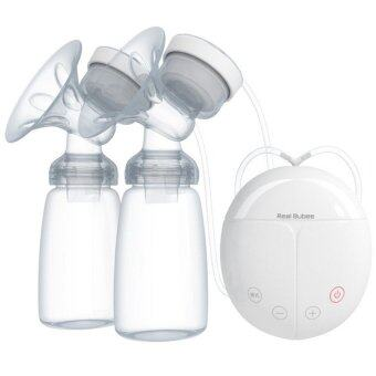 Harga Double Electric Breast Pump with 2 Bottles - intl