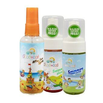 Harga Good mood Swimming Set (Swimming Shampoo, Swimming Soap, After Sun Spray)