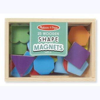 Harga Melissa and Doug Magnetic Wooden Shapes & Colors