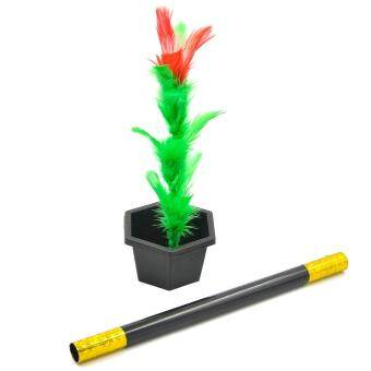 Harga Magic Flower Stick Rod Pop up Flower Magic Props Magic Trick Magic Joke Toy Easy to Play for Kids Party Show - intl