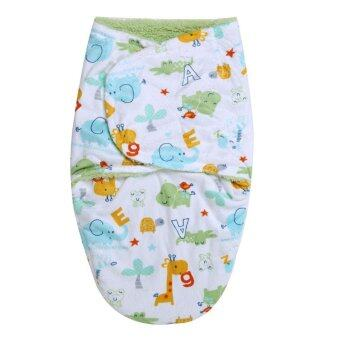 Harga Newbaby Bathrobes Double Layers Short Plush Sleeping Bag - intl
