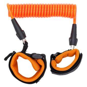 Harga EXCEED HARNES SAFETY BABY ( Orange Colour ) สายจูงเด็กกันพลัดหลง ( สีส้ม ) HSB001 Baby Kids Keeper Baby Walkers Wrestling Belt Infant Wrist Safety Harness Child Leash Anti Lost Wrist Link Traction Rope