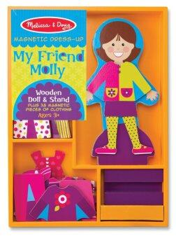 Harga Melissa and Doug My Friend Molly Magnetic Dress-Up