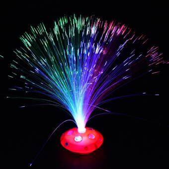 Harga Fiber Optic Night Light Lamp Stand Home - intl