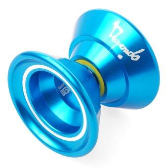 Harga Magic Original Magic N5 YoYo Aluminum Professional Yo-Yo Toys + 5xStrings + Glove (สีฟ้า)