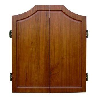 Harga One80 Darts Solid Wood Dart Cabinet Oak