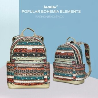 Insular 2017 Bohemia Canvas Diaper backpack