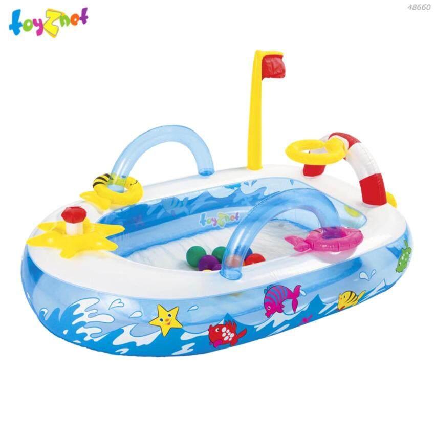 Intex สวนสนุกเรือเดินทะเล (สำหรับเล่นแบบไม่ใส่น้ำ) รุ่น 48660