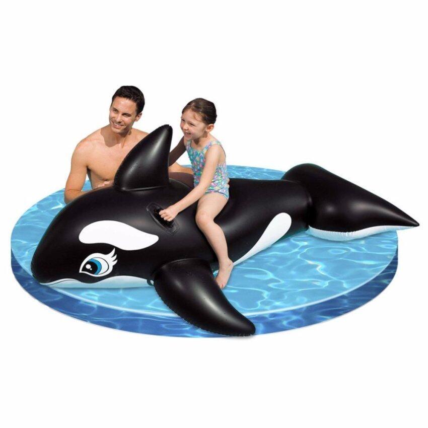 INTEX 58561 แพยางว่ายน้ำ รูปปลาวาฬเพชรฆาต 193 x 119 cm.