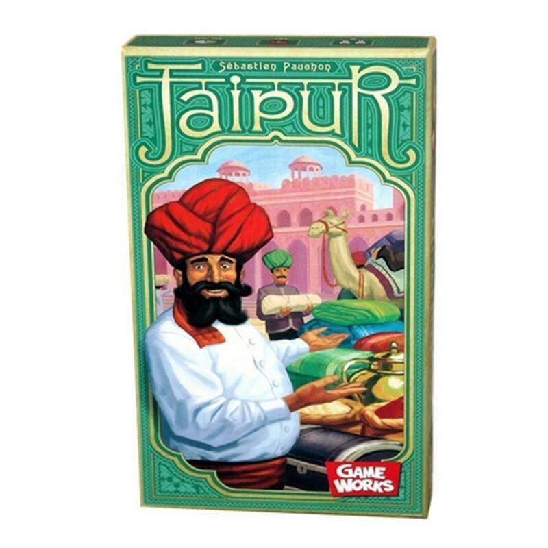 Jaipur Cards Game 2 Players Board Game Strategy In Funny Transactions Metting Game with English Instruction Christmas Party Game - intl