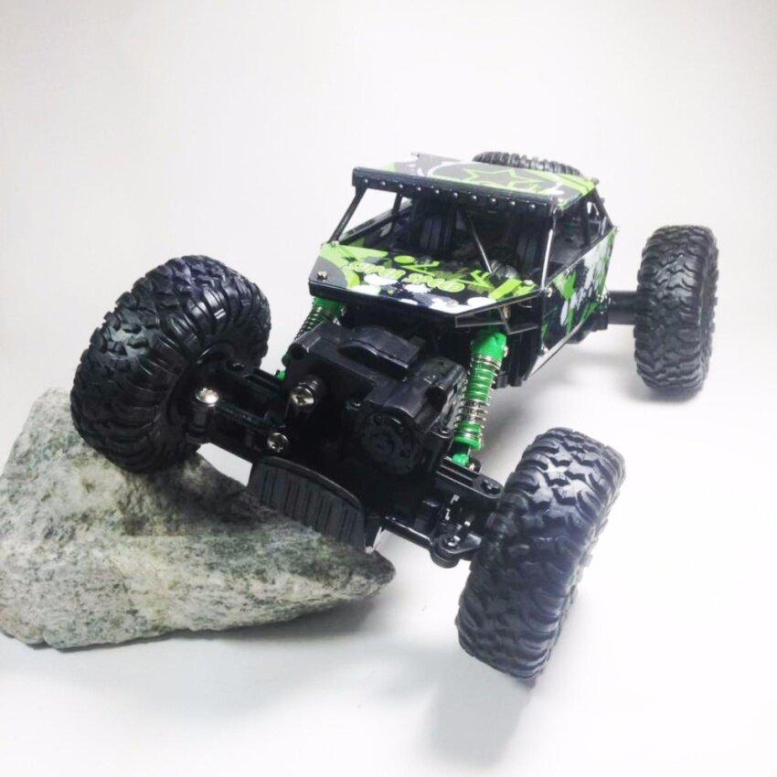 รถบังคับวิทยุวิบาก รถบังคับไต่ภูเขา JD Toys Rock Leader 4WD 4x4 2.4ghz image