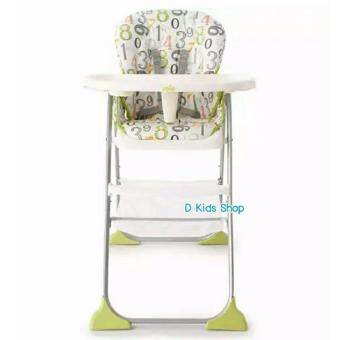 Joie Alphabet High chairรุ่นใหม่ล่าสุด รุ่น Mimzy Snacker 123 Artwork ลายสวยมาก คุณภาพดีมาก ของแท้ รับประกันศูนย์ประเทศไทย