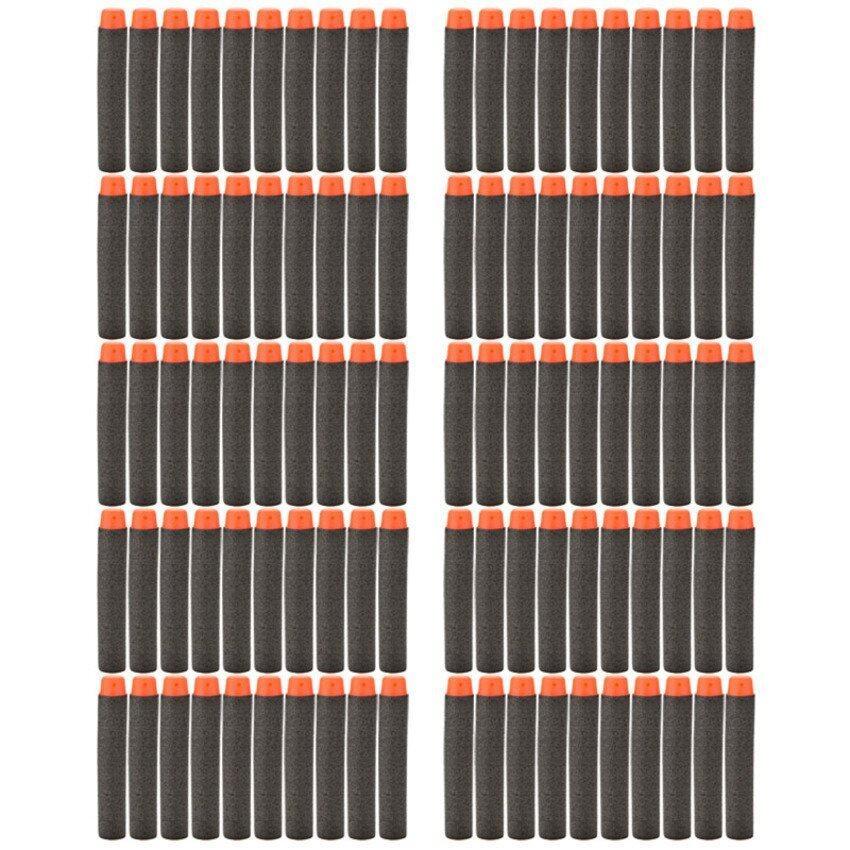 JOR Refill Darts Bullet for Nerf Elite Series Blaster Black 200pcs