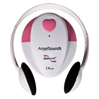 Jumper Angelsounds เครื่องฟังเสียงหัวใจทารกในครรภ์ รุ่น JPD-100S - White