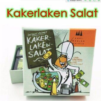 Kakerlaken Salat board game , high quality, best card game verysuitable for the family indoor games - intl