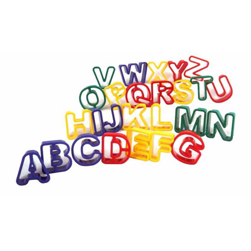 KID ART ชุดแม่พิมพ์ตัวเลข A-Z
