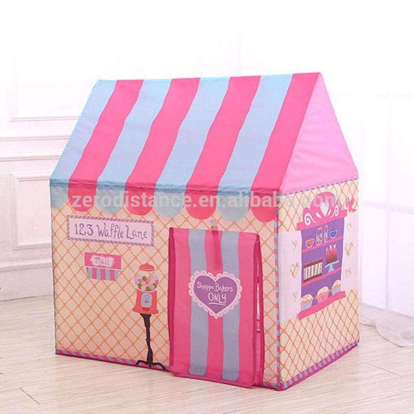 เต๊นท์เด็ก เต๊นของเล่น เต๊นร้านขายของ เบเกอรี่ Kidsmania 80x100x110 cm.