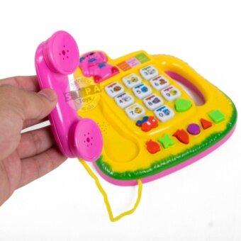 KJTOYS โทรศัพท์ดนตรี สีเหลือง Novel Telephone - 3