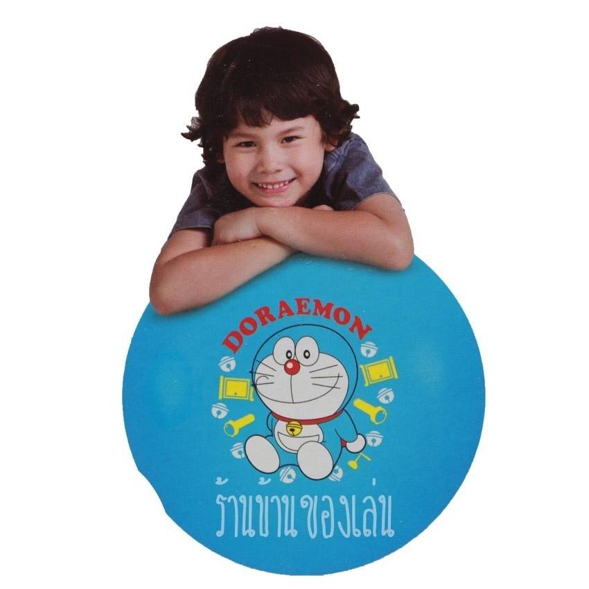 KNK TOY ลูกบอลยักษ์ Doraemon Jumbo Ball ลูกบอลใหญ่ยักษ์ลายโดเรม่อน ขนาดØ45ซม. D8957
