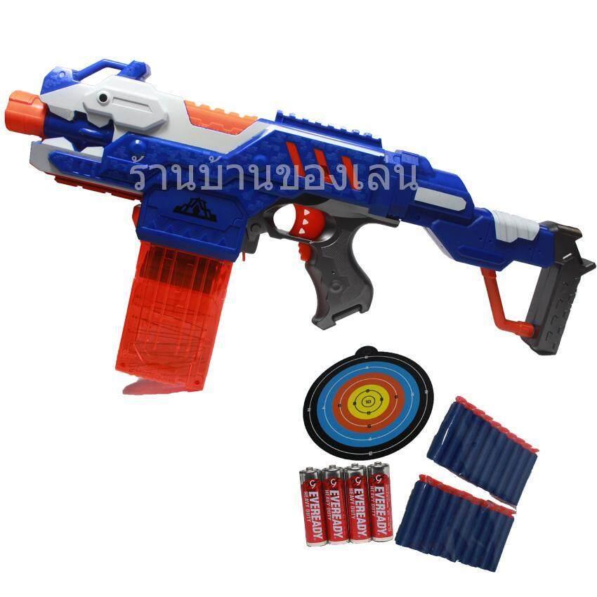 KNK TOY ปืนเนิร์ฟ Nerf ปืนEVAยิงอัตโมมัติกระสุนโฟม พร้อมถ่าน 9926 image