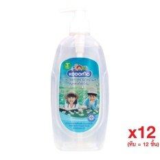 KODOMO สบู่เหลว สำหรับเด็ก โคโดโม สูตรเจนเทิล 400 มล. (ซื้อยกหีบ 12 ขวด)