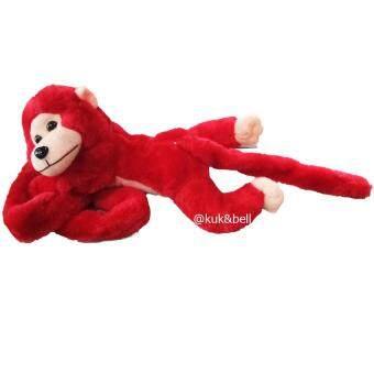 KUKTOY ตุ๊กตาลิง ลิงผ้า ลิงผ้ามีเสียงร้องได้ ขนนุ่มเหมือนตุ๊กตา1785