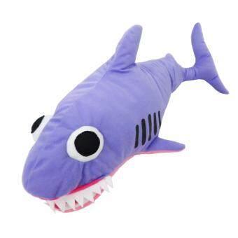KWANFUNSTUFF หมอนหุ่นมือ ฉลาม สีม่วง