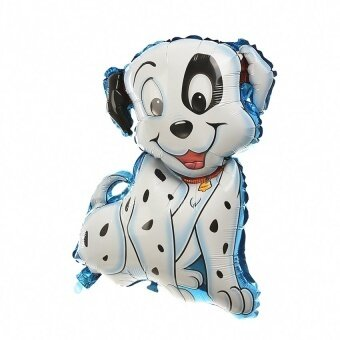 Large Pug Foil Balloons Helium Cute for Kids - intl