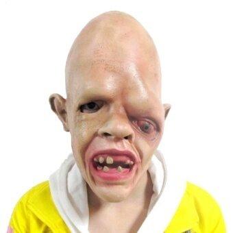 Latex Halloween Costume Mask Zombie Scary Fancy Dress Adult Costumeaccessory - intl