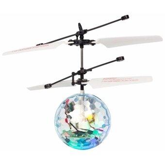 บอลลอยได้ - เฮลิบอล พร้อมไฟกระพริบ LED - LED HELI-BALL (DUAL MODE) LIGHT TRY ME (TRU-799553)