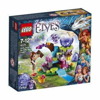 LEGO ตัวต่อเสริมทักษะ เลโก้ เอลวส อิมิลี่ จอนส์ แอนด์ เบบี้ วินด์ ดราก้อน - 41171