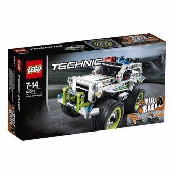 LEGO ตัวต่อเสริมทักษะ เลโก้ เทคนิค โพลืช อินเทอเซพเทอะ - 42047