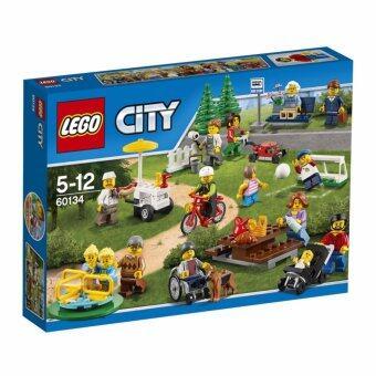 LEGO ตัวต่อเสริมทักษะ เลโก้ ซิตี้ ทาวน์ ฟัน อิน เดอะ ปาร์ค ซิตี้ พีเพิล เเพ็ค - 60134
