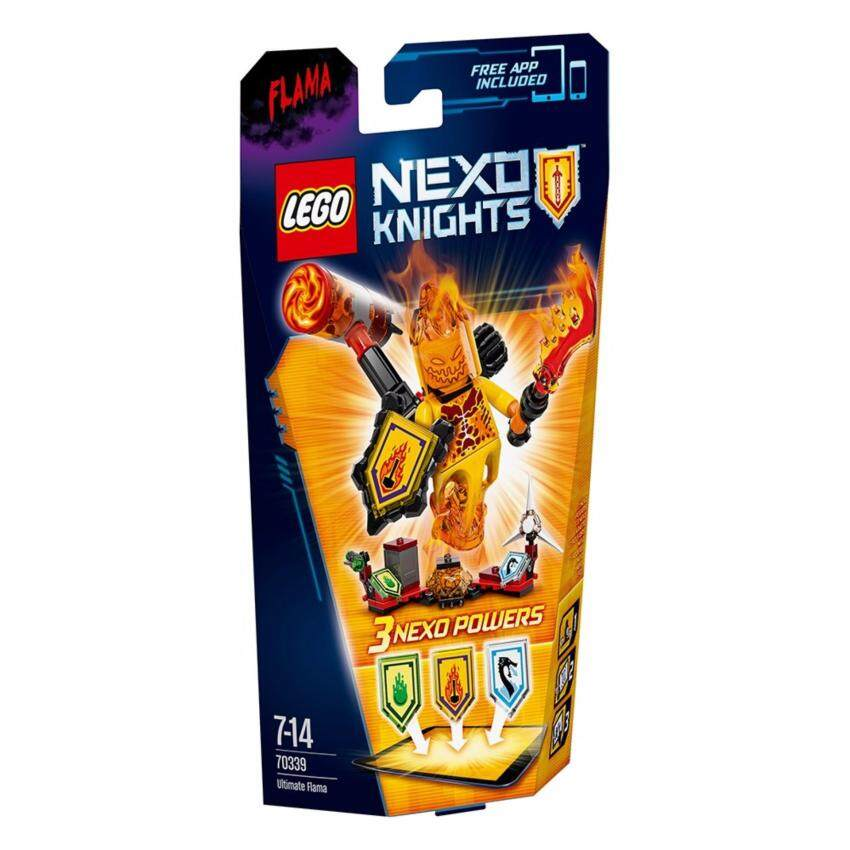 LEGO ตัวต่อเสริมทักษะ เลโก้ เน็กโซไนท์ ยูติเมท เฟลม - 70339