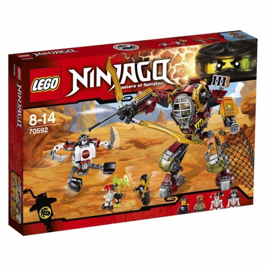 LEGO ตัวต่อเสริมทักษะ เลโก้ นินจาโก แซลวิจ เอ็ม.อี.ซี. - 70592