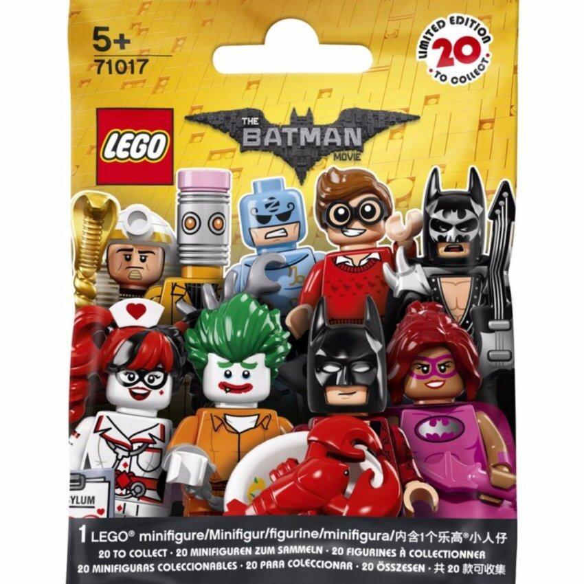 LEGO ตัวต่อเสริมทักษะ เลโก้ มินิฟิเกอร์ แบทแมน - 71017