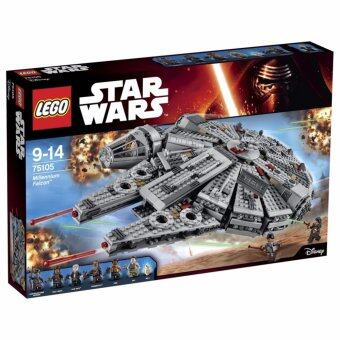 LEGO ตัวต่อเสริมทักษะ เลโก้ วอร์ มิเลนเนียม แฟลคัน - 75105