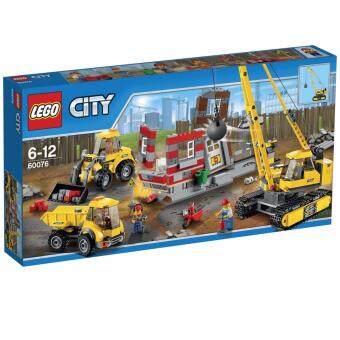 LEGO Demolition Site ตัวต่อเสริมทักษะ เลโก้ ซิตี้ เดอโมลิชั่น ไซท์ - 60076