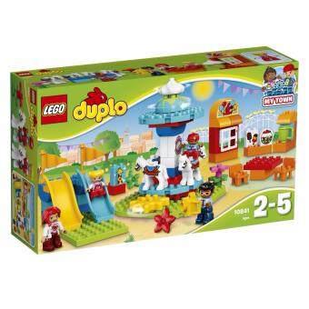 LEGO ตัวต่อเสริมทักษะ เลโก้ ดูโปล ฟัน แฟมิลี่ แฟร์Fun Family Fair -10841