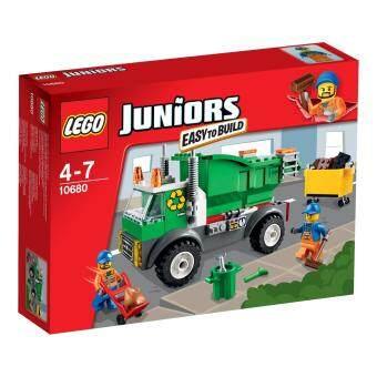 LEGOJuniors Garbage Truck-10680 ตัวต่อเสริมทักษะ เลโก้ กาเบจ ทรัค