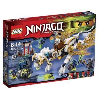 LEGO Master Wu Dragon ตัวต่อเสริมทักษะ เลโก้ นินจาโก มาสเตอร์ วู ดรากอน - 70734