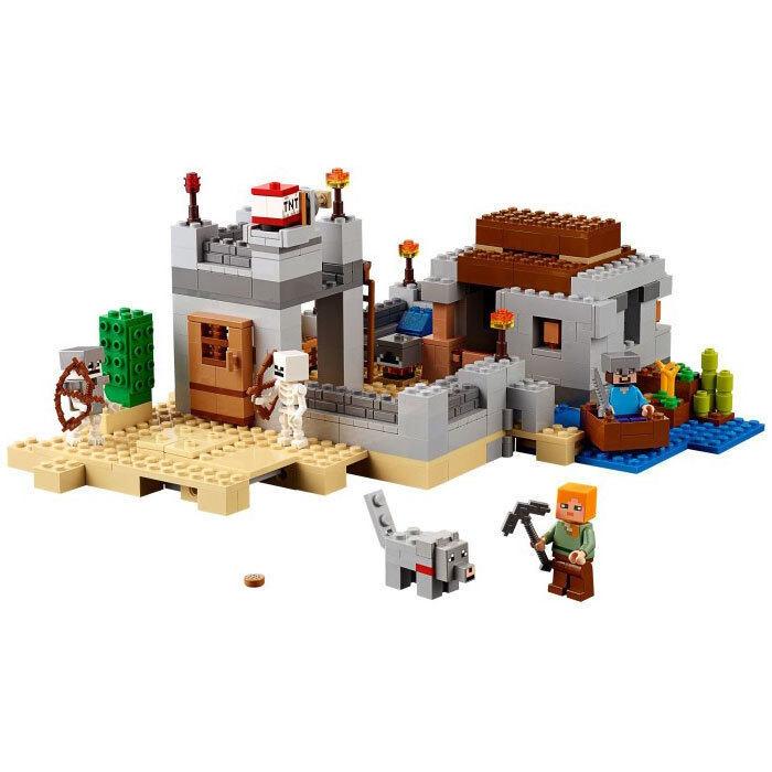 LEGO Minecraft 21121 the Desert Outpost