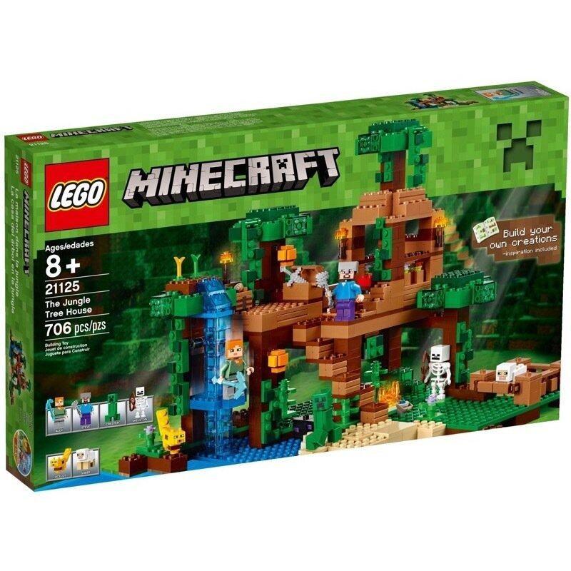 LEGO Minecraft 21125 The Jungle Tree House image