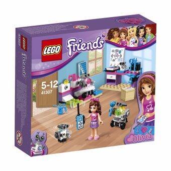 LEGO ตัวต่อเสริมทักษะ เลโก้ เลโก้ เฟรน โอลีเวีย ครีเอทีฟ แล็ป Olivia's Creative Lab - 41307