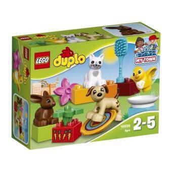 LEGOตัวต่อเสริมทักษะ เลโก้ ดูโปล ทาวน์ แฟมิลี่ เพท Family Pets - 10838