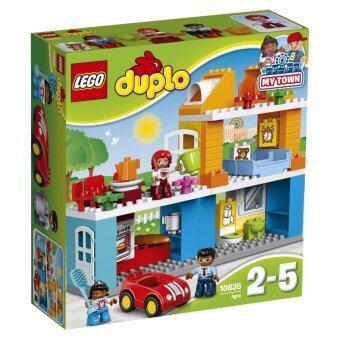 LEGOตัวต่อเสริมทักษะ เลโก้ ดูโปล ทาวน์ แฟมิลี่เฮ้าส์ Family House - 10835