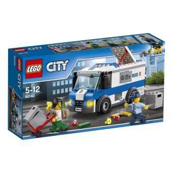 LEGO ตัวต่อเสริมทักษะ เลโก้ซิตี้ โพลิซมันนี่ ทรานสปอร์ตเทอร์ Money Transporter - 60142