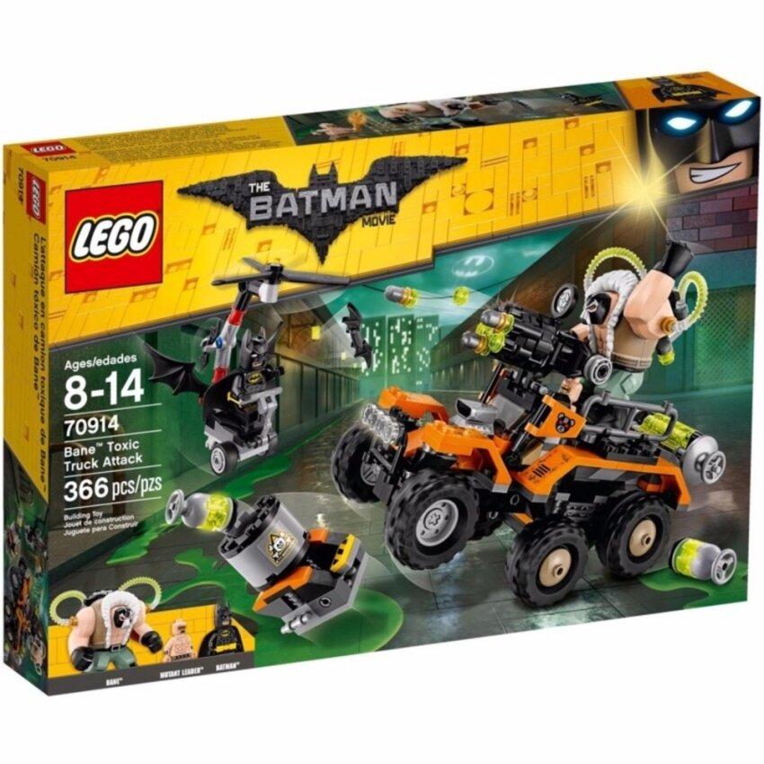 LEGO The Lego Batman Movie 70914 Bane™ Toxic Truck Attack
